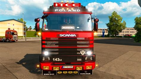 scania trucks scania 143m truck interior edit by ekualizer v3 3