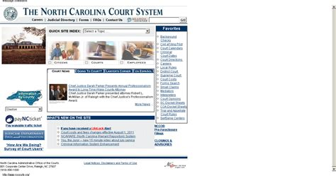 Carolina Judiciary Search Search Results For Nc Court Calendars Home Calendar 2015