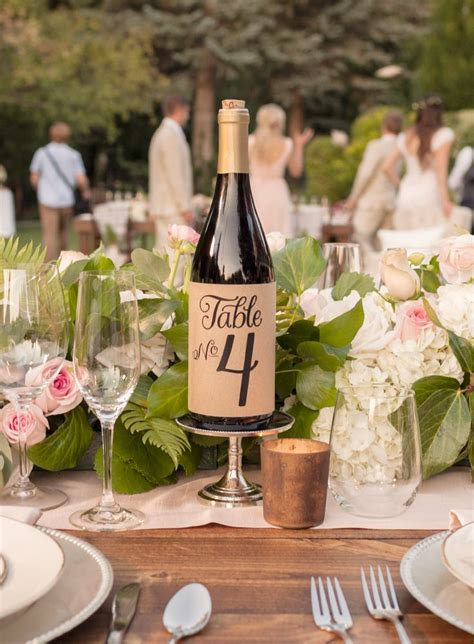 wine bottle l ideas from invitations to decorations create the wedding you ve