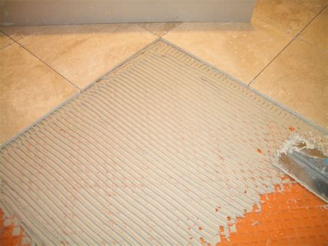 How To Install Tile Floor by How To Install Absolutely Flat Floor Tile