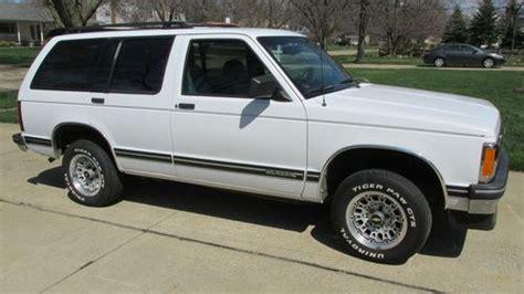 sell used 1993 chevrolet s10 blazer tahoe sport utility 4