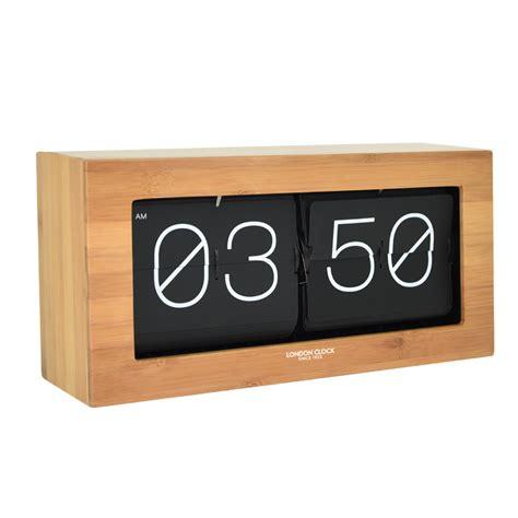 flip desk stunning wood veneer flip desk clock