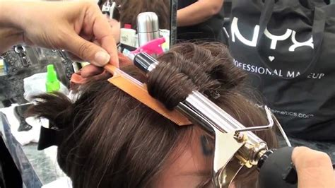 COSMETOLOGY: CURLING IRON PROCEDURE for STATE BOARD   YouTube