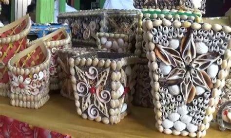 Bros Cangkang 87 kerajinan tangan pigura dari kerang laut bingkai