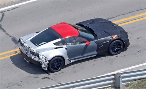 2018 chevrolet corvette zr1 spied up at gm milford