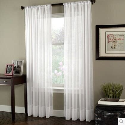 sheer curtains clearance 270cm finished window transparent voile curtains panel