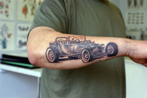 car sleeve tattoo designs car tattoos