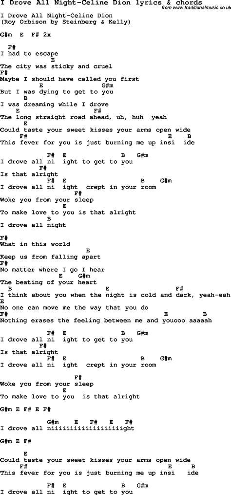 Celine Dion Guitar Chords