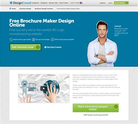 23 Free Brochure Maker Tools To Create Your Own Brochure Design Free Premium Templates Create Your Own Brochure Templates Free