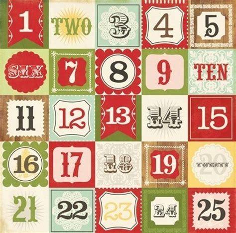 printable christmas numbers 1 25 красивые картинки для лд распечатки