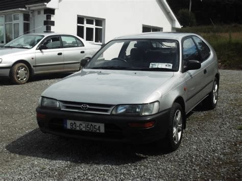 toyota corolla 1993 model for sale 1993 toyota corolla 3dr hatchback for sale for sale in