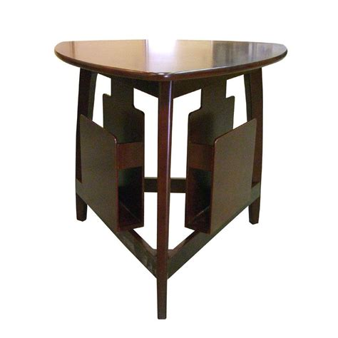 cherry accent table home decorators collection cherry magazine end table h 135