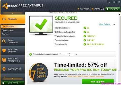 free download full version of avast antivirus with key avast antivirus free download for windows 7 32 bit full
