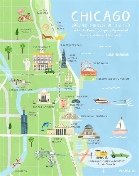 chicago map illustration chicago map illustration 28 images summer in chicago