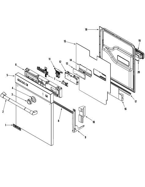 jenn air dishwasher parts diagram jenn air dishwasher tub parts model jdb2150awp