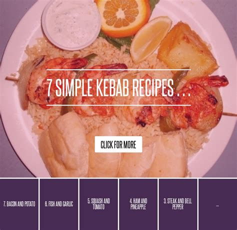 Book Review The About Ruby By Alsion Bond by 7 Simple Kebab Recipes Cooking