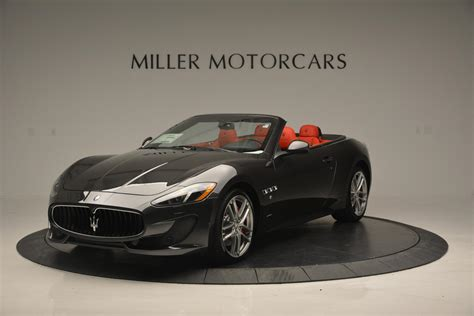 maserati red 2017 new 2017 maserati granturismo convertible sport westport ct