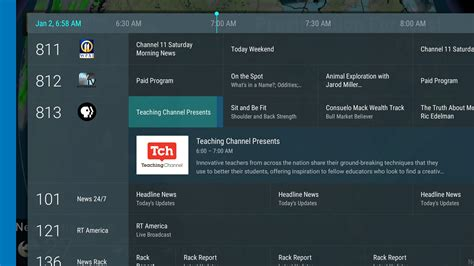 live tv channel running list of live channel sources android tv news