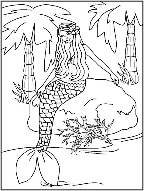free coloring pages of h20 mermaids