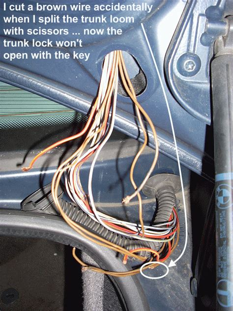 bmw e46 boot wiring diagram gallery diagram sle and
