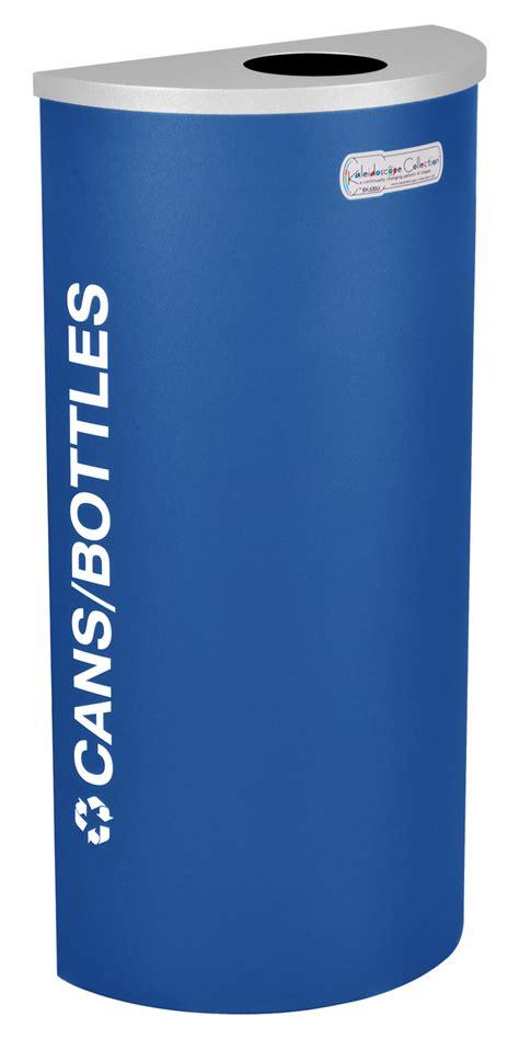 bin botol 8 in 1 8 gallon modular half recycle bin cans and bottles