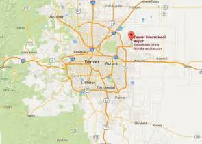 denver colorado airport map denver international airport baggage auctions baggage