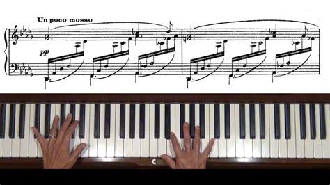 tutorial piano debussy debussy clair de lune piano tutorial complete with score