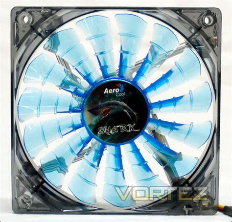 Aerocool Shark Fan Blue Fan 12cm Blue Led the ultimate cooling fan grouptest 2012 review aerocool