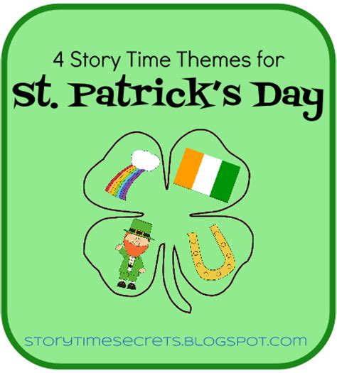 themes of the story an astrologer s day story time secrets 4 story time themes for st patrick s day