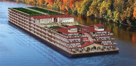 inland waterway boat rentals luxury condo barge for u s waterways abc news
