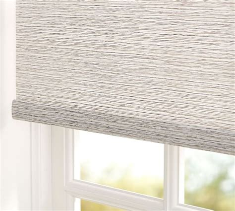 Custom Roller Shades Bali 174 Cordless Custom Roller Shade Reef Pottery Barn