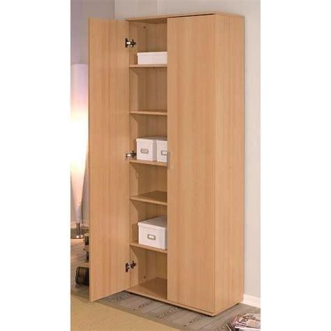 armoir rangement armoire de rangement 2 portes vetra achat vente armoire de bureau armoire de