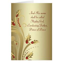 card christian wording holliday decorations