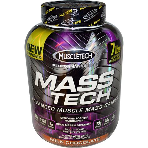 Masstech Muscletech weight gainer muscletech