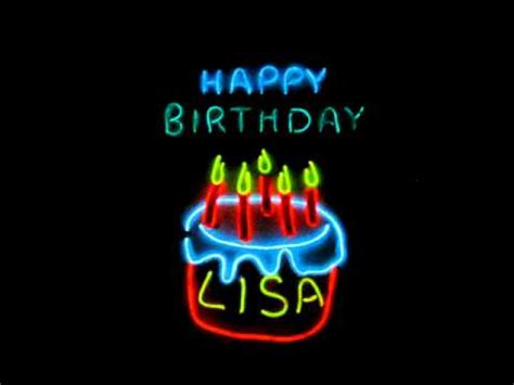 happy birthday lisa mp3 download musically animated el wire decorated gift box happy