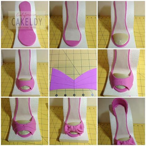 17 best ideas about fondant shoe tutorial on pinterest