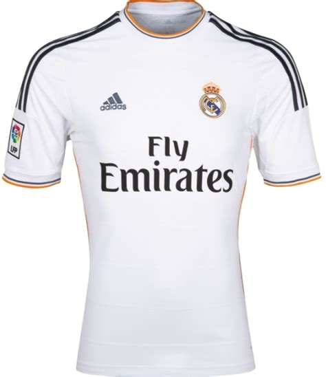 Baju Bola Fly Emirates real madrid new kit 2013 2014