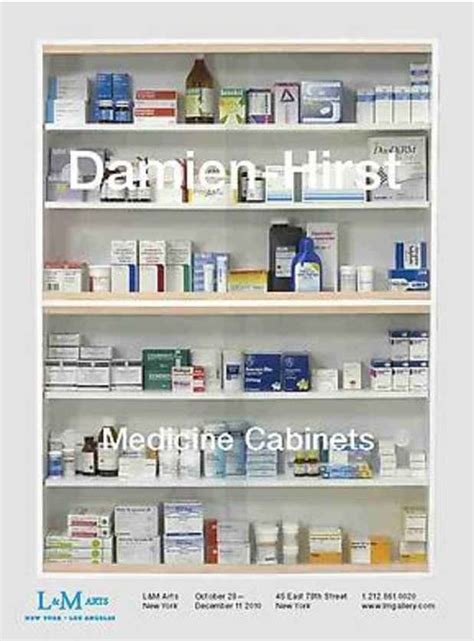 Hirst Medicine Cabinet by Nyab Event Damien Hirst Quot Medicine Cabinets Quot