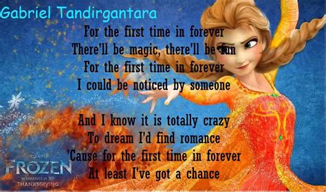For The Time In Forever Quot Frozen Quot Inspired Crafts Craft Paper Scissors For The Time In Forever Frozen Karaoke Lyrics