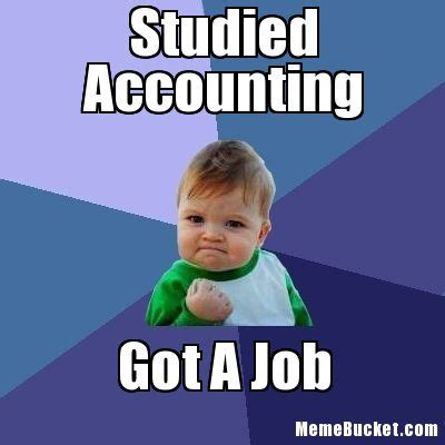 Accounting Memes - studied accounting create your own meme