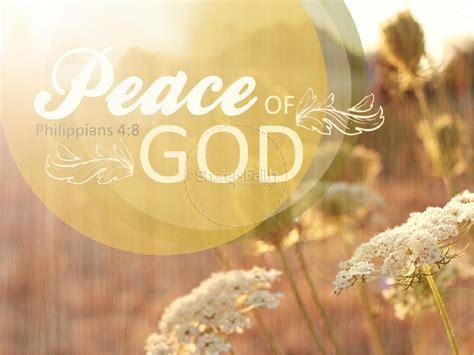 Peace Of God Powerpoint Design Powerpoint Sermons Sharefaith Powerpoint