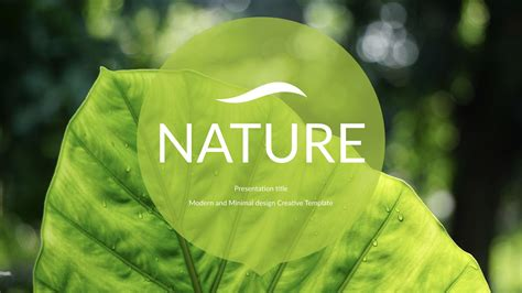 nature powerpoint template powerpoint template nature image collections powerpoint