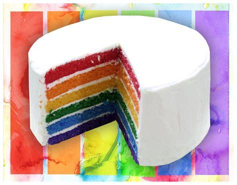 layered rainbow how to make a rainbow layer cake using white chocolate mud
