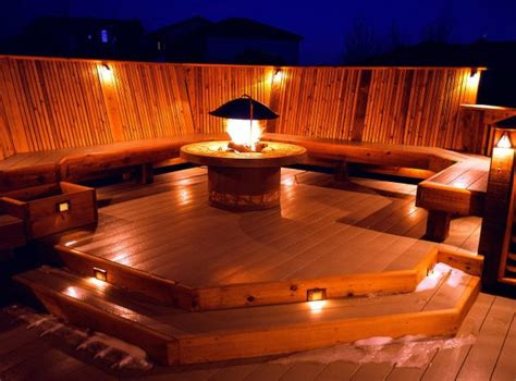 installing lights on deck 15 special deck lighting ideas to delight you