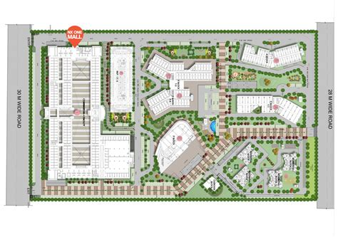Green Home Builders nx one site plan