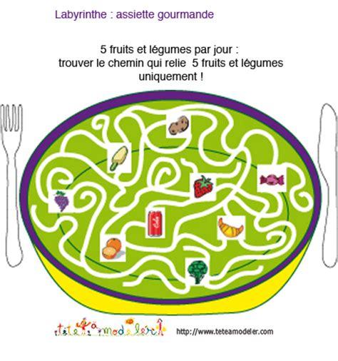 t駘馗harger jeux de cuisine labyrinthe a imprimer sur t 234 te 224 modeler