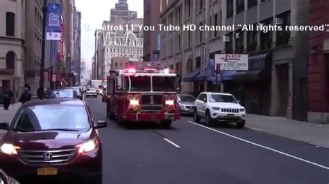 truck ny 2014 fdny trucks responding manhattan york 2014 hd