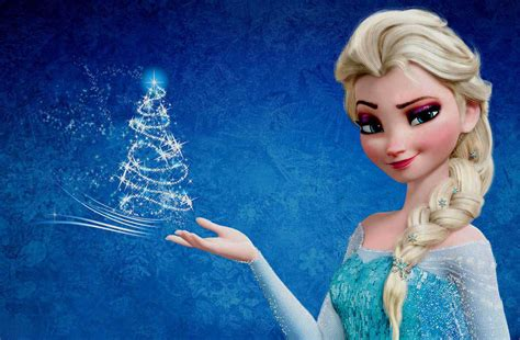 cartoon elsa wallpaper snow queen elsa in frozen and cinderella cartoon character