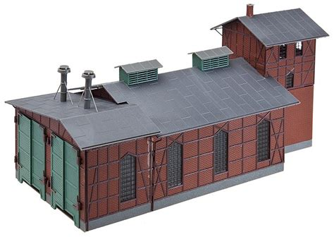 faller 120161 ho scale engine shed