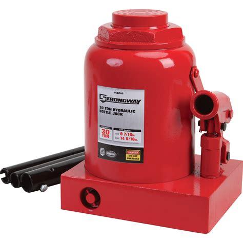 FREE SHIPPING — Strongway 30-Ton Hydraulic Bottle Jack ... Hydraulic Car Bottle Jack